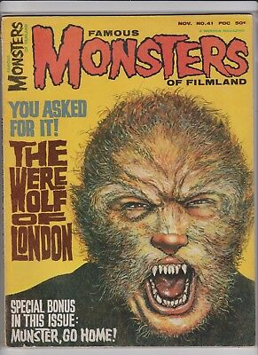 Famous Monsters of Filmland 41      FN+