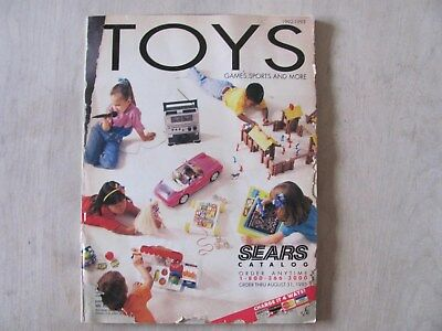 Sears  Catalog 1993 Toys only Game Systems Nintendo