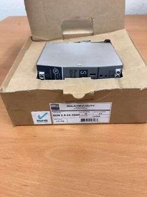 New Sola/Hevi-Duty SDN 2.5-24-100P Power Supply
