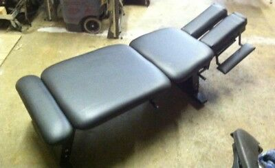 NEW MT-125 Black Lumbar & Thoracic Drop Chiropractic Bench Table LOCAL PICK UP
