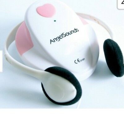 FETAL DOPPLER HEART BEAT MONITOR ANGEL SOUND ANGELSOUNDS Excellant condition