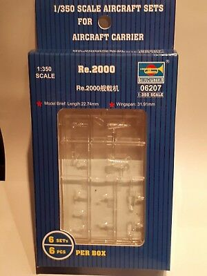 Trumpeter 06207 Reggiane Re 2000 Italian Air Force Fighter Aircraft 1:350