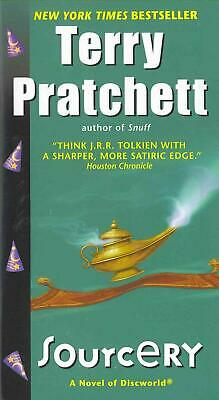 Sourcery by Terence David John Pratchett (English) Mass Market Paperback Book Fr