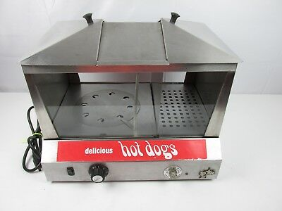 STAR 35SS Commercial HOT DOG STEAMER & BUN WARMER Electric