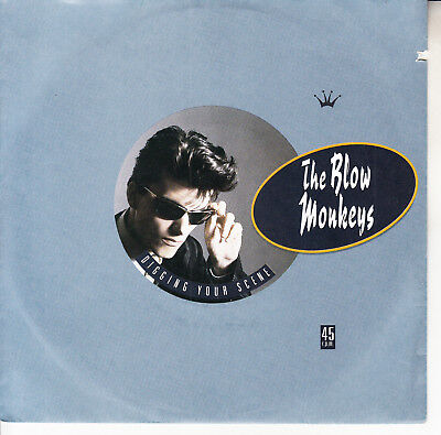 "THE BLOW MONKEYS  Digging Your Scene PICTURE SLEEVE 7"" 45 rpm vinyl record NEW"