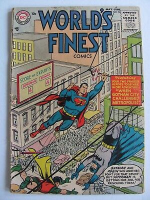 World's Finest #76 (1955)  Another great oldie.