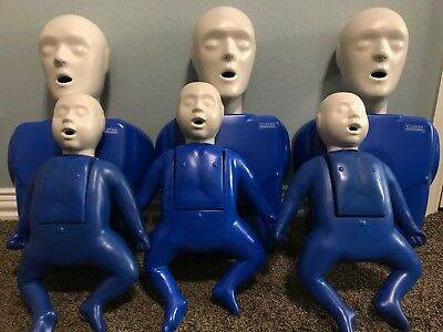 Excellent condition Lot of CPR Manikins Adult/Infant