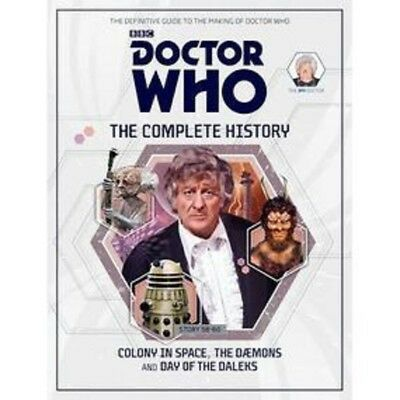 DOCTOR WHO ; THE COMPLETE HISTORY Volume 2 Hardcover (New - 3rd Doctor)