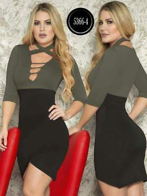 Vestido COLOMBIANO,112  Authentic Colombian, Push Up ,