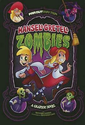 Hansel & Gretel & Zombies: A Graphic Novel by Benjamin Harper (English) Paperbac