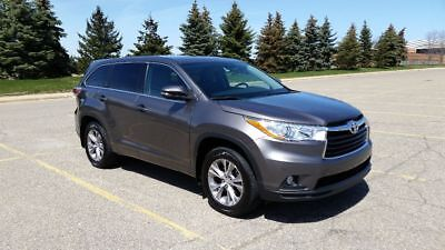 2014 Toyota Highlander LE Plus 2014 Highlander LE Plus AWD Private Owner, Excellent Shape!