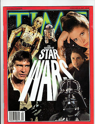 Star Wars Time Magazine February 10, 1997  Clean Cover! Canadian Edition!
