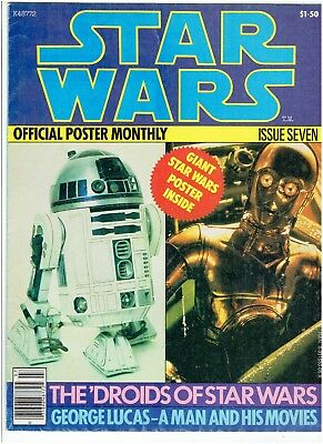 Star Wars Official Poster Monthly Issue Seven Eight Eleven Twelve set 1978