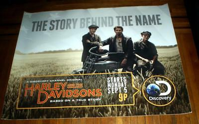 Harley And The Davidsons Discovery Channel Harley Davidson 5Ft Subway Poster