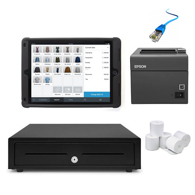 Square POS Hardware with Kensington Rugged Case Stand - iPad Compatible Bundl...