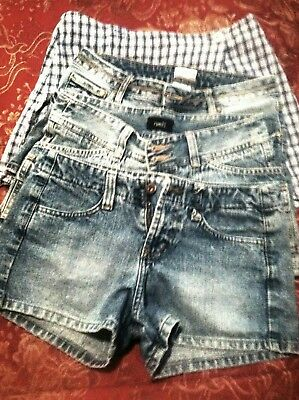 Lots of (4)  Jean Shorts - Lei , No Boundaries, Rue 2  (Jean shorts)  I.N.(Skort