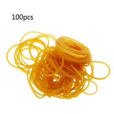 100 PCS/Bag High Quality Office Rubber Ring Rubber Bands School Office Supplies