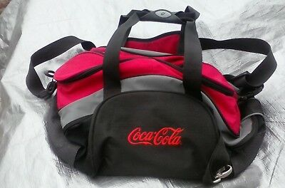 Coca Cola Gym Duffle Bag Red Black Coca-Cola Advertising Soda  Coke