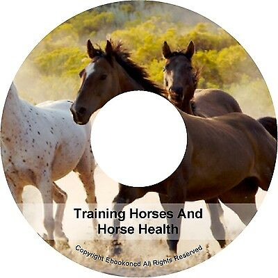 How To Train Your Horse Pony Health Breeding 9 Volume Collection Books on CD
