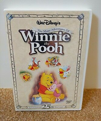 Disney's The Many Adventures of Winnie the Pooh dvd