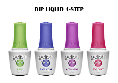 Gelish Dip System Dipping Liquid 4 Steps Basic On Sale!