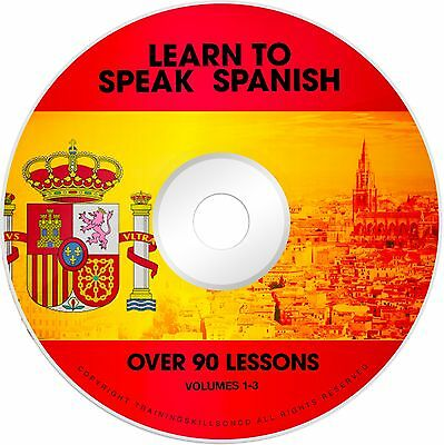 LEARN TO SPEAK BASIC SPANISH Language Phrase Words PDF Ebooks on CD