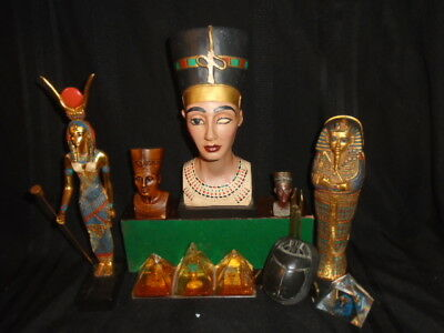 "Agi Artisans Guild International   89 Egyptian Goddess Isis 12.5"" Mint $299Usd"