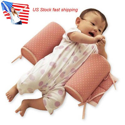 Baby Pillow Infant Newborn Sleep Positioner Shape Anti Roll Pillow Safety Tool