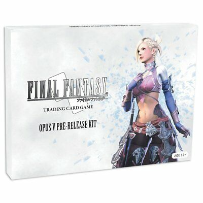 Final Fantasy Trading Card Game Opus V Pre-release Kit