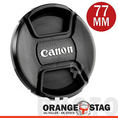 Lens Cap Cover Centre Pinch for Canon Lenses with 77mm Thread