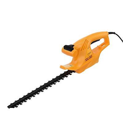 Outdoors Corded Electric Hedge Trimmer Cutter Cutting Blade 45Cm Lightweight New