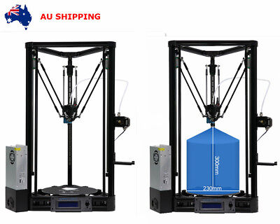 ANYCUBIC Auto-Leveling Plus Linear Rail Kossel φ230x300mm 3D Printer Kit AU SHIP