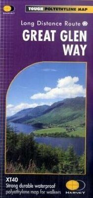 Great Glen Way XT40 (Route Map) New Map Book Harvey Map Services Ltd