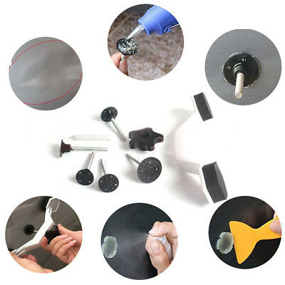 1Set Car Body Dent Hail Removal Vehicle Repair Kits Hand Tools Suction Device
