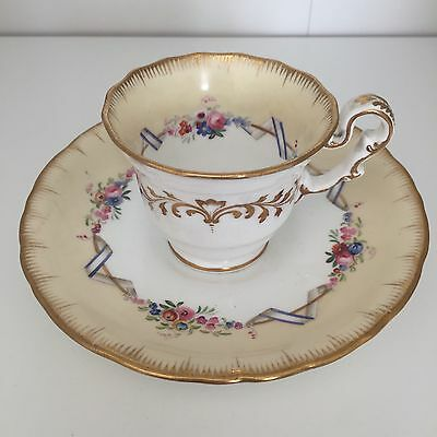 Copeland And Garrett Cup And Saucer