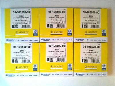 6 x Racing Piston Rings Götze 3 5/16in BMW E34 Z1 M20B25 6 Cylinder