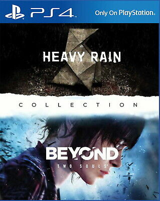 Heavy Rain & Beyond: Two Souls Collection PS4 (Sony PlayStation 4) NEUWARE