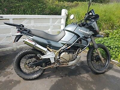2006 Kawasaki KLE 500 kle500 perfect lightweight adventure bike 12 months mot