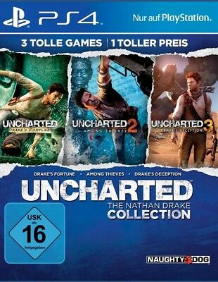 Uncharted: The Nathan Drake Collection PS4 (Sony PlayStation 4)  NEUWARE