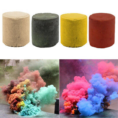 Smoke Cake Colorful Smoke Effect Show Round Bomb Stage Photography Aid Divine