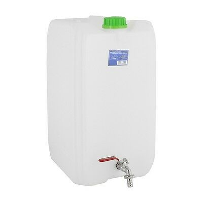 Water storage container 30L with pouring tap Camping Picnic Bottle Dispenser Can