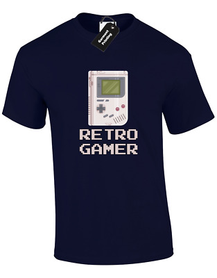 Nintendo game boy basic set box manual only no games or player retro gamer mens t shirt funny gaming nintendo ps4 xbox gameboy cool colour fandeluxe Image collections
