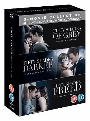 Fifty Shades: 3-movie Collection  (Includes Bonus Disc) [Blu-ray]
