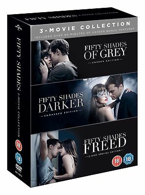 Fifty Shades: 3-movie Collection (Includes Bonus Disc) [DVD]