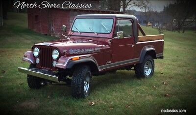 Other -FRAME OFF RESTORATION - NEW PAINT AND INTERIOR - 1981 Jeep Scrambler, Burgundy/Maroon with 26,982 Miles available now!
