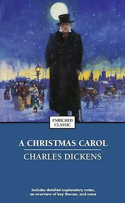 A Christmas Carol by Charles Dickens (English) Mass Market Paperback Book Free S