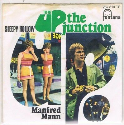 """7"""" - MANFRED MANN - UP THE JUNCTION - german PS"""