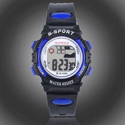 Children Sports Watches Kid Digital LED Wrist Watch for Girls Boys