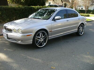 2003 Jaguar X-Type SILVER Nice California Rust Free Jaguar X-Type Great Condition RARE 5 PEED MANUAL