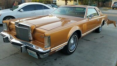 1978 Lincoln Mark Series  1978 Lincoln Continental Mark V